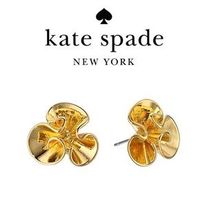 """🆕 Kate Spade """"Frilled to Pieces"""" Stud Earrings"""